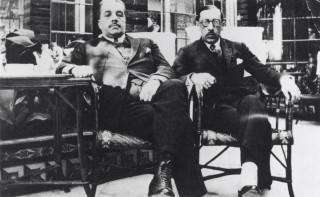 Sergei Diaghilev & Igor Stravinsky