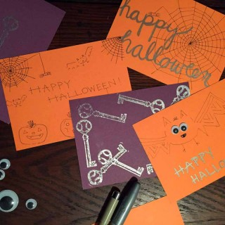 Some Halloween cards by Anna Seagrave