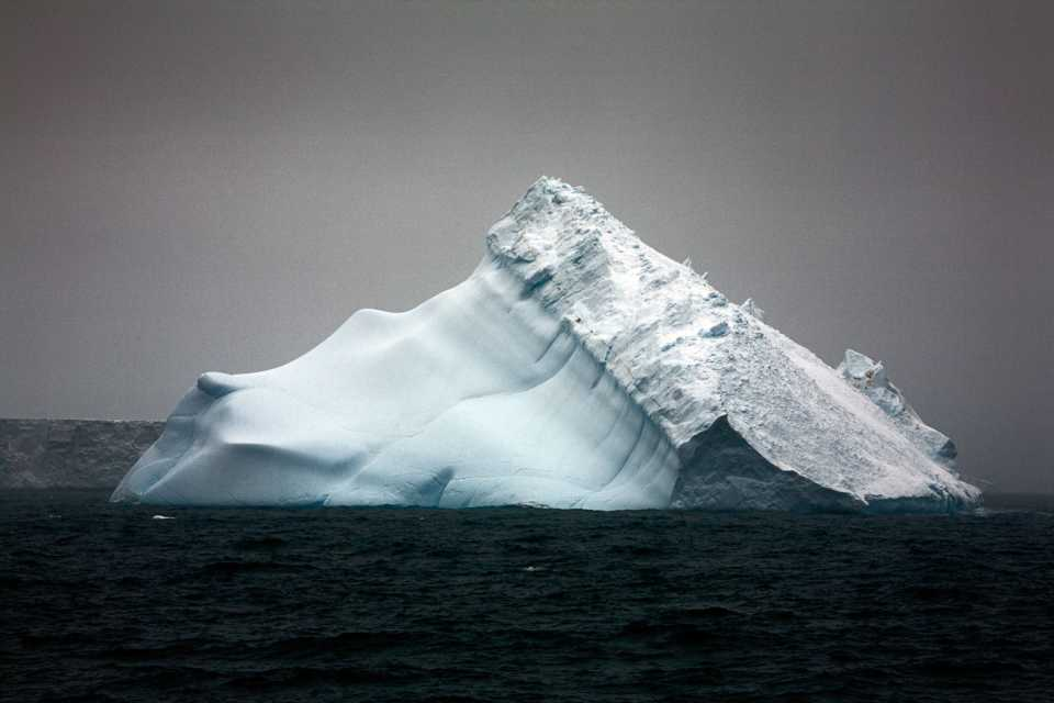 Falling Down Iceberg - Antarctica December 3 2007 by Camille Seaman
